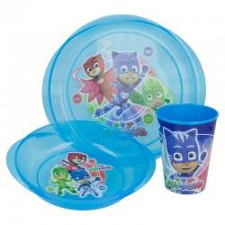 Diakakis imports Dinner Set PJ Masks 484088 5205698254680