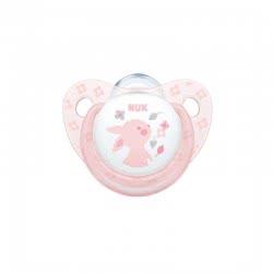 NUK Πιπίλα Σιλικόνης Baby Rose M1 10730052 4008600281641