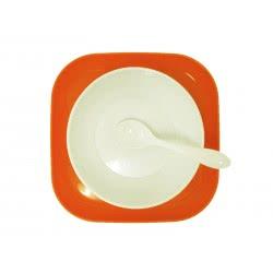 just baby Σερβίτσιο Φαγητού 3 τεμαχίων Πορτοκαλί JB-7021-ORANGE 9110670211697