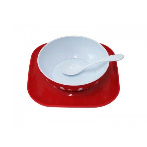 just baby Σερβίτσιο Φαγητού 3 τεμαχίων Κόκκινο JB-7021-RED 9110170211692