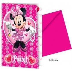 PROCOS Προσκλήσεις Minnie Disney . 006354 5201184063545