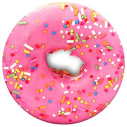 Popsockets Grip Pink Donut για όλα τα κινητά 101257 815373022371