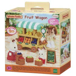 Epoch Sylvanian Families: Πάγκος Φρούτων(Fruit Wagon) 5265 5054131052655