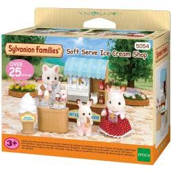 Epoch Sylvanian Families: Μαγαζάκι Παγωτού (Soft Serve Ice-Cream Shop) 5054 5054131050545