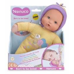 As company Nenuco Baby Doll Magic Lullaby 25 Cm, Yellow 4104-14038 8410779063786