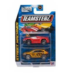 As company Teamsterz Street Machines 2 Αυτοκινητάκια Μεταλλικά 1:64 - 9 Σχέδια 7535-16211 5050841621112