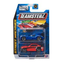 As company Teamsterz Street Machines 2 Metallic Venicles 1:64 - 9 Designs 7535-16211 5050841621112