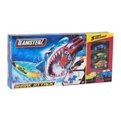 As company Teamsterz Πίστα Shark Attack με 3 Μεταλλικά Αμαξάκια - 2018 7535-16435 5050841643510