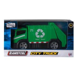 As company Teamsterz City Truck Οχήματα Μεταλλικά - 4 Σχέδια 7535-16449 5050841644913