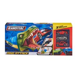 As company Teamsterz Πίστα Dino Attack Με 3 Μεταλλικά Αμαξάκια 7535-16576 5050841657616