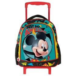 Diakakis imports Τσάντα Πλάτης Τρόλεϊ Mickey and the Roadster Racers MC14 27x10x31εκ 561792 5205698239045