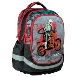 MUST Backbag  Unique Motorcyclist, 30x16x42cm 579387 5205698245831