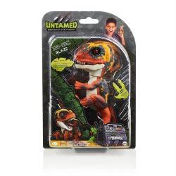 WowWee Fingerlings Untamed Dino Baby Velociraptor - Blaze, Ηλεκτρονικό Ζωάκι Δεινοσαυράκι, Πορτοκαλί 3780 771171137818