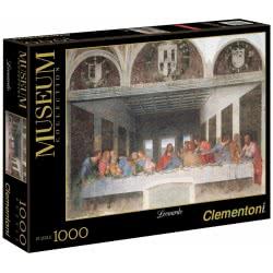 Clementoni Παζλ 1000τεμ Museum Collection Λεονάρντο Ντα Βίντσι: Μυστικός Δείπνος 1260-31447 8005125314478