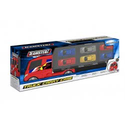 As company Teamsterz Small Car Transporter Car With 6 Die-Cast Cars 1:64 7535-16251 5050841625110