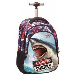 NO FEAR Back Me Up Σακίδιο Τρόλεϋ Danger Shark 347-40074 5204549112094