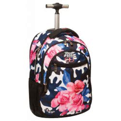 NO FEAR Back Me Up Trolley Backpack  Army Flower 347-15074 5204549111998