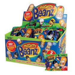 As company Mighty Beanz Φιγούρα Φασόλι Mighty Beanz Series 3 - Σακουλάκι 2 Τεμαχίων 1865-66043 5203068660437
