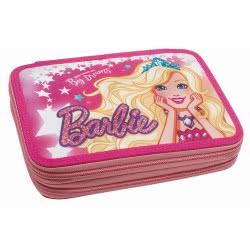 GIM Barbie Dreamtopia Κασετίνα Διπλή Γεμάτη, Little Princess with Big Dreams 349-61100 5204549110038
