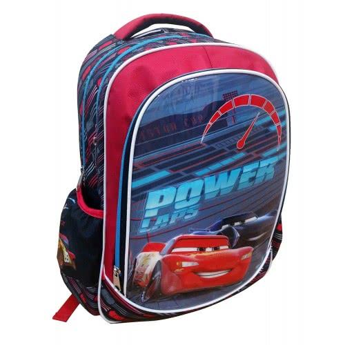 db6f40a2496 GIM Τσάντα Πλάτης Δημοτικού Οβαλ Cars Build For Speed - Power Laps 341-41031  5204549109414