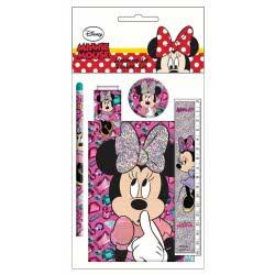 GIM Minnie Mouse Σχολικό Σετ και Μπλοκάκι 340-55755 5204549111202