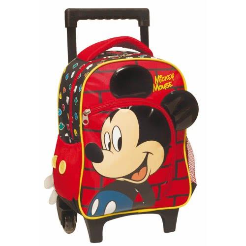 9d65ee60ed3 GIM Mickey Mouse Face Τσάντα Τρόλλεϋ Νηπιαγωγείου 340-74072 5204549109391