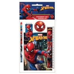 GIM Spiderman Σχολικό Σετ Και Μπλοκάκι 337-70755 5204549111325
