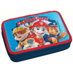 GIM Paw Patrol Alpha Pups - Ready for Action Κασετίνα Διπλή Γεμάτη 334-19100 5204549110007