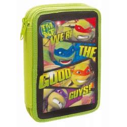 GIM TMNT Ninja Turtles We Are The Good Guys Κασετίνα Διπλή Γεμάτη 334-09100 5204549110120