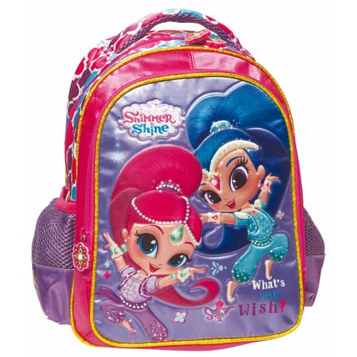 abee4d4a458 GIM Shimmer and Shine What is your Wish Τσάντα Πλάτης Νηπιαγωγείου  334-45054 5204549107489