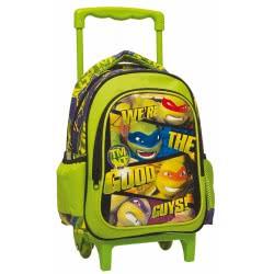 GIM TMNT Ninja Turtles We Are The Good Guys Τσάντα Τρόλλεϋ Νηπιαγωγείου 334-09072 5204549112919