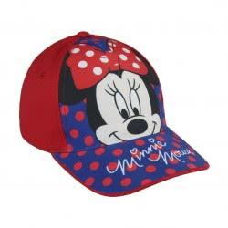 Cerda Παιδικό Καπέλο Minnie Mouse, Κόκκινο, 51εκ. 2200002847 8427934182978