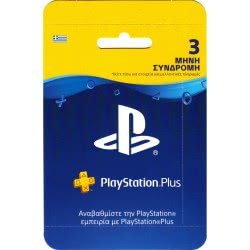 SONY Playstation Plus Card 3 Monts Subscription (PS4, PS3, PS Vita)  711719811343
