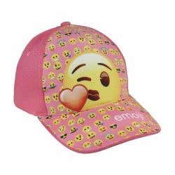 Cerda Kids Hat Emoji Kiss, Pink, 53Cm 2200002853 8427934182466