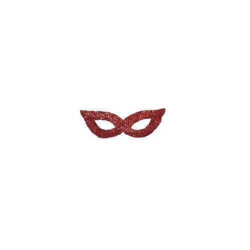 CLOWN Μάσκα Ματιών Με Πούλιες Κόκκινη 72796 5203359727962