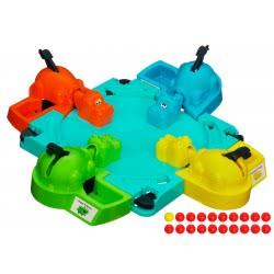Hasbro Χαρούμενοι Ιπποποταμούληδες Παιδικό Επιτραπέζιο Hungry Hippos 98936 5010994644895