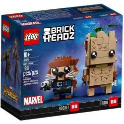 LEGO Brickheadz Γκρουτ Και Ροκετ - Groot And Rocket 41626 5702016176476