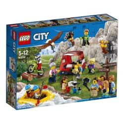 LEGO City Πακέτο με Ανθρώπους - Περιπέτειες στο Υπαιθρο 60202 5702016108958