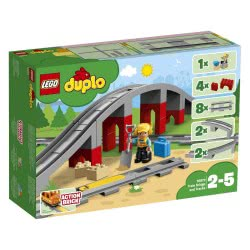 LEGO Duplo Train Bridge And Tracks 10872 5702016117240