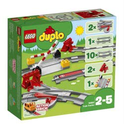 LEGO Duplo Σιδηροδρομικές Τροχιές 10882 5702016117288