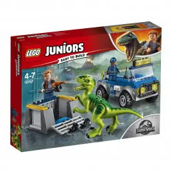 LEGO Juniors Jurassic World Raptor Rescue Truck 10757 5702016117363