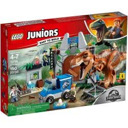 LEGO Juniors Jurassic World T-Rex Breakout 10758 5702016117578