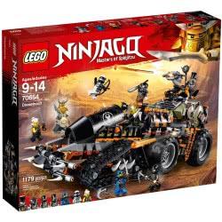 LEGO Ninjago Ντίζελνοτ (Dieselnaut) 70654 5702016110692