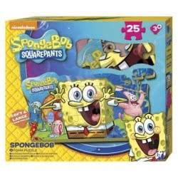 Group Operation Παζλ Foam Spongebob Μπόμπ Ο Σφουγγαράκης 25Τεμ E-SBS-5571-1 5055114295595