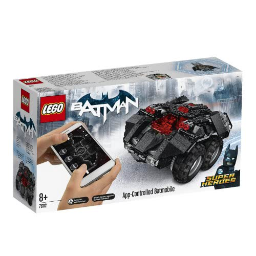 LEGO Super Heroes App-Controlled Batmobile 76112 5702016109016