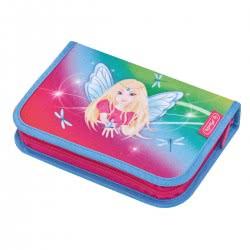 herlitz Σχολική Κασετίνα Γεμάτη 31τεμ Rainbow Fairy 50014309 4008110560113