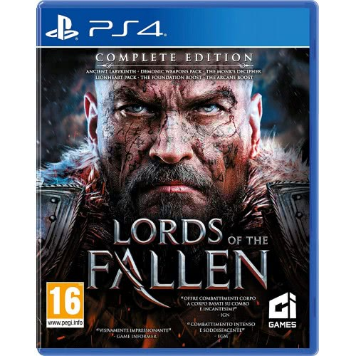 City Interactive Games PS4 Lords of the Fallen Complete Edition  5907813592454