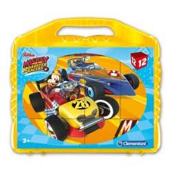 Clementoni Mickey Roadster Racers Παζλ 12 Κύβοι 1100-41183 8005125411832
