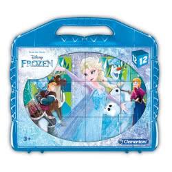 Clementoni Disney Frozen Παζλ 12 Κύβοι 1100-41186 8005125411863