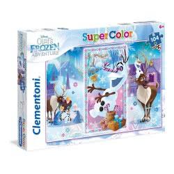 Clementoni Super Color Παζλ Olaf`s Frozen Adventure, 104τμχ 27093 8005125270934